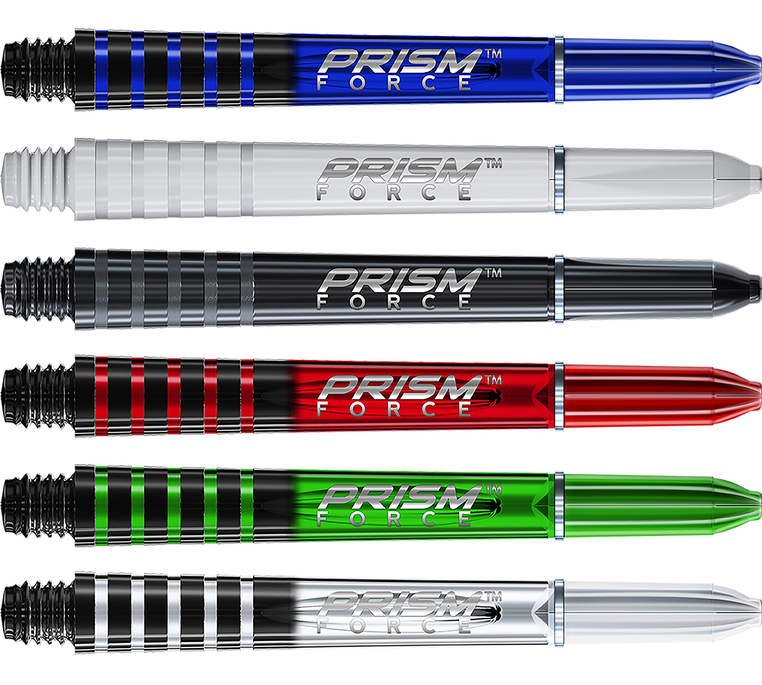 Mixed Colours Rhino Technology 5 Sets Winmau Prism Dart Flight Collection