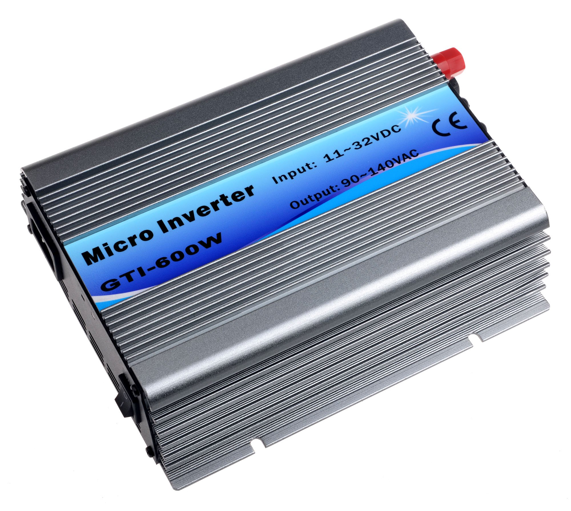 SolarEpic 600W Micro Grid Tie Inverter 11-32V DC W/ MPPT 110V Output Stackable by SolarEpic (Image #1)