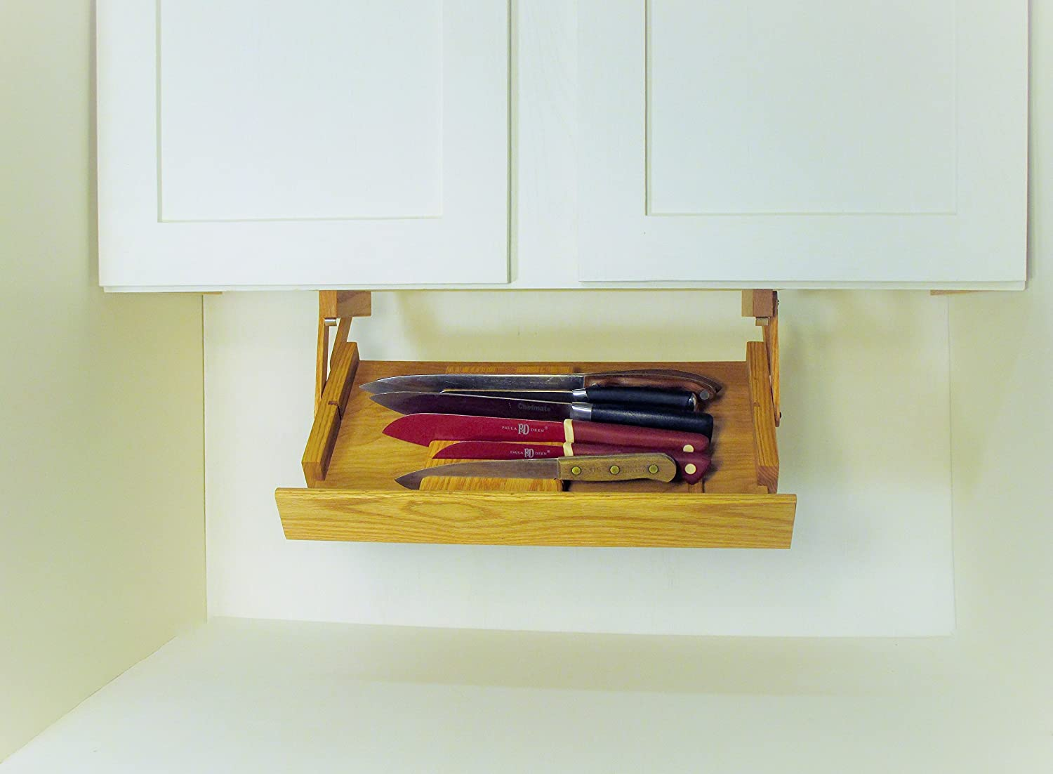 Amazon.com: Under Cabinet Mounted Knife Rack: Kitchen & Dining
