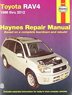 Toyota rav4 1996 thru 2010 haynes repair manual editors of toyota rav4 1996 thru 2012 haynes repair manual fandeluxe Choice Image