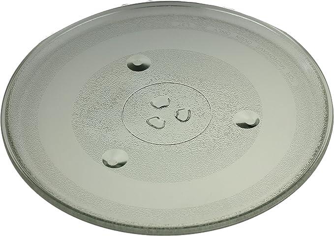 Universal de plato giratorio con 31,5 cm. Diámetro para microondas ...