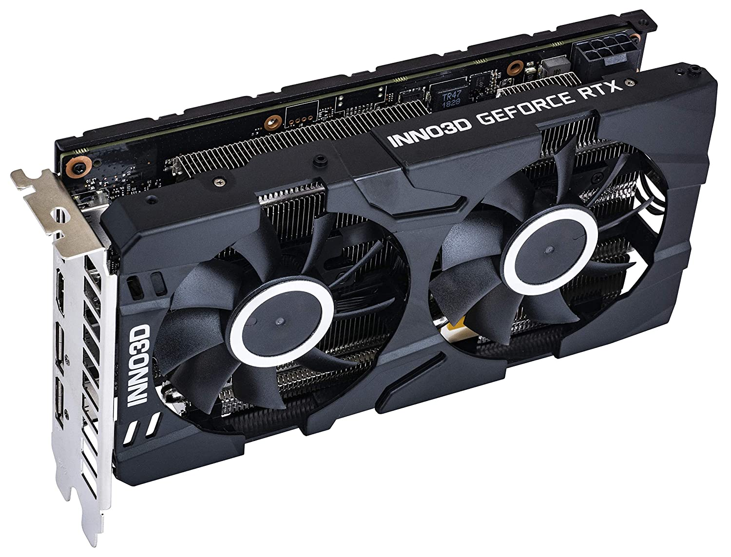 Image result for Inno3D Nvidia Gaming Geforce RTX 2060 Twin X2 6Gb Gddr6 Graphic Card