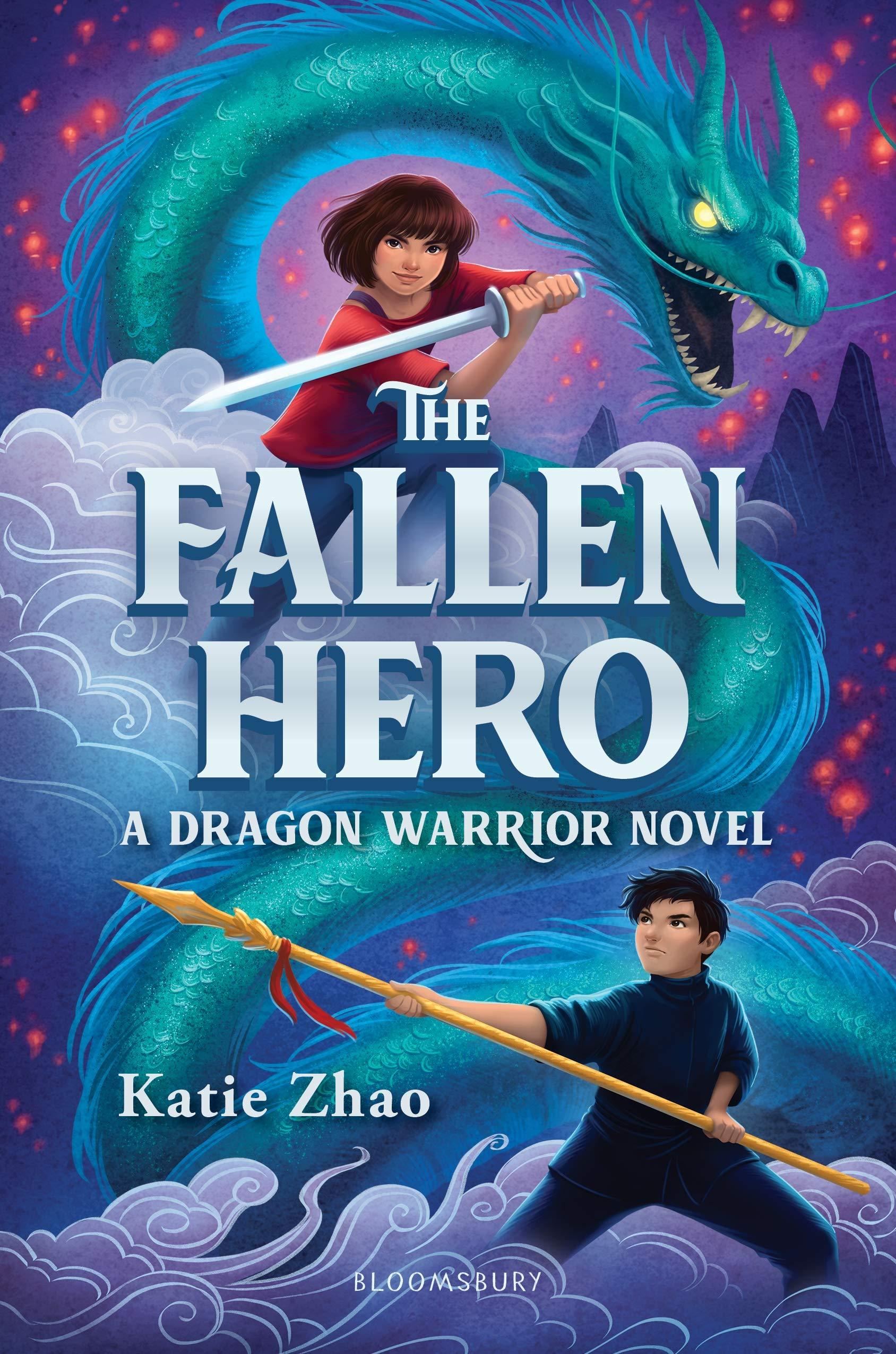 The Fallen Hero (The Dragon Warrior): Zhao, Katie: 9781547601974 ...