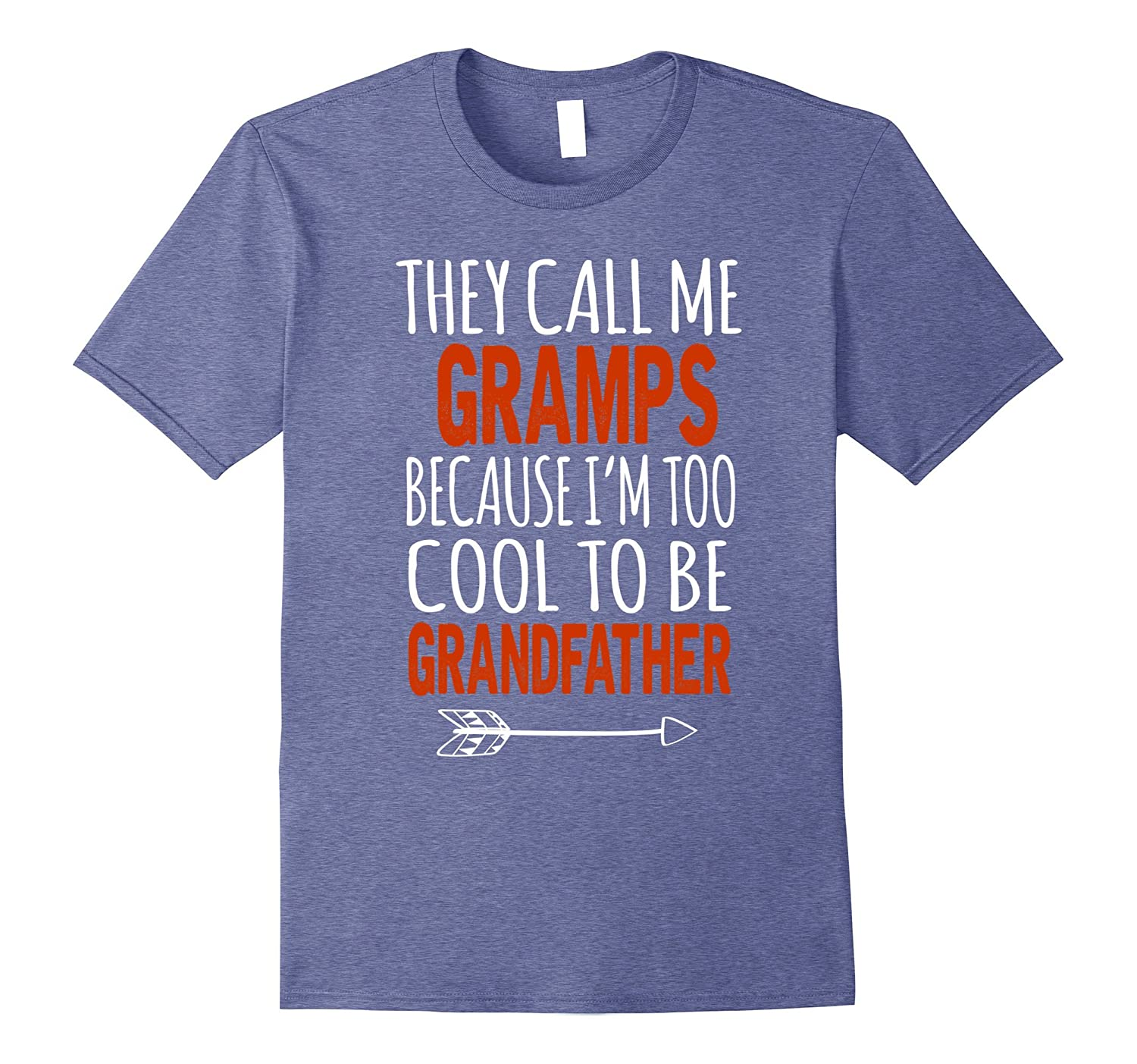 Mens I'm Called Gramps Too Cool To Be Called Grandfather T-Shirt