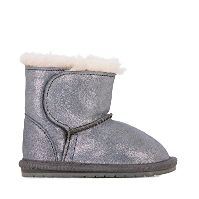 7b6c004f36d6c4 Amazon.com   EMU Australia Kids Toddle Metallic Deluxe Wool Boots ...