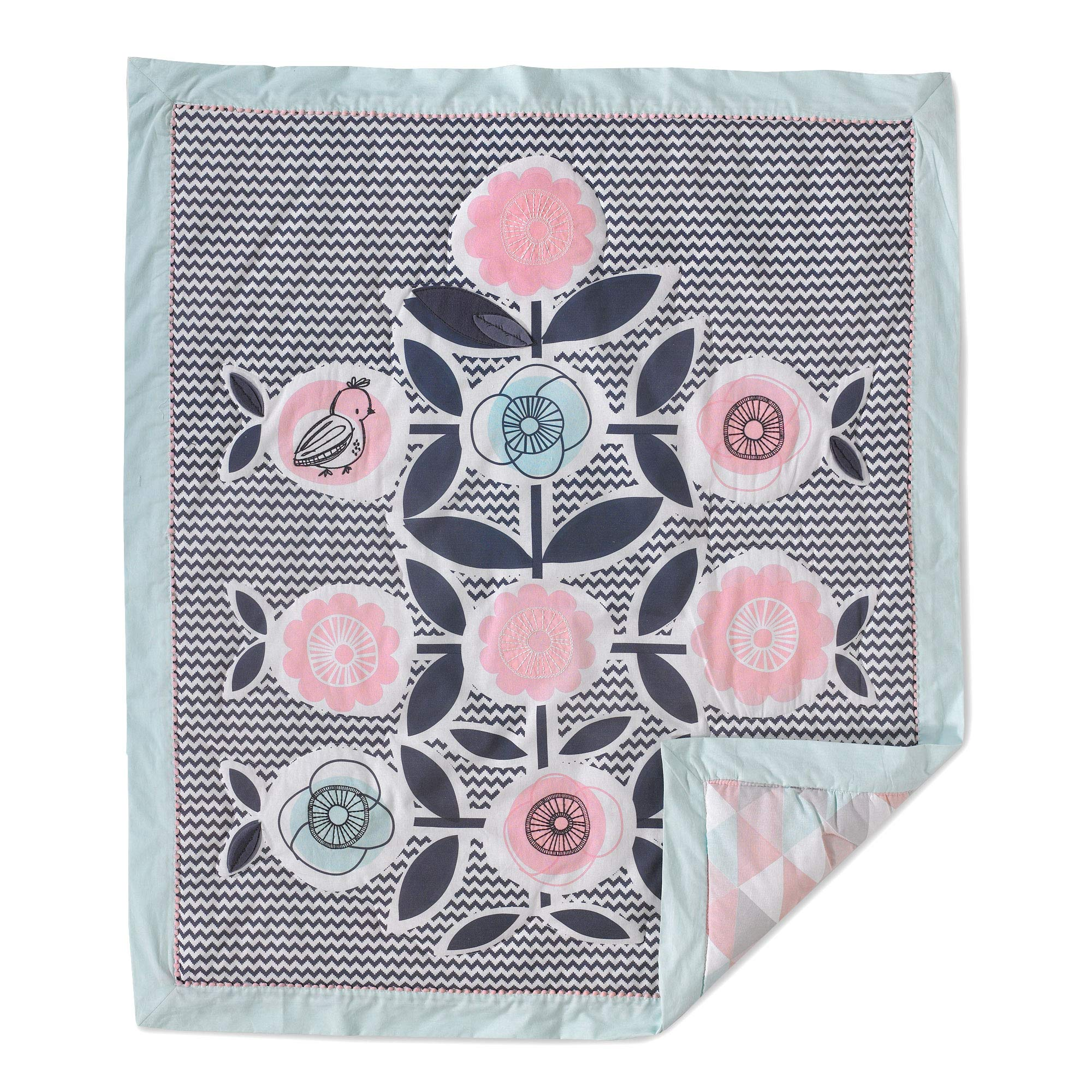 Lolli Living Sparrow Baby / Toddler Quilt by Lolli Living