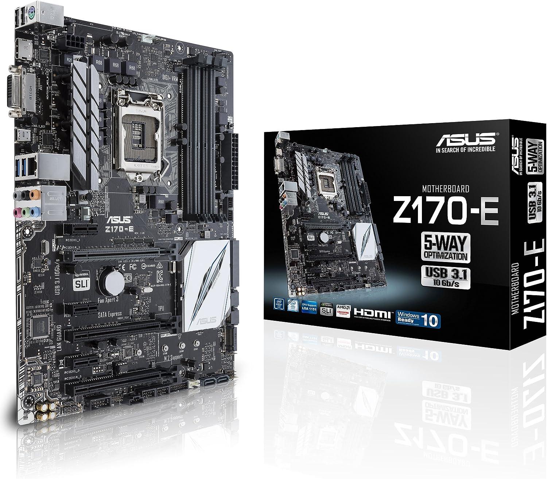 ASUS ATX DDR4 LGA 1151 Motherboard Z170-E