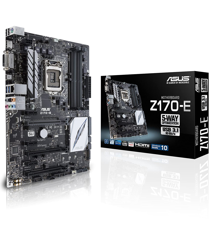 ASUS - Z170-E - Z170 64GB DDR4 LGA1151 Mthrbd 2