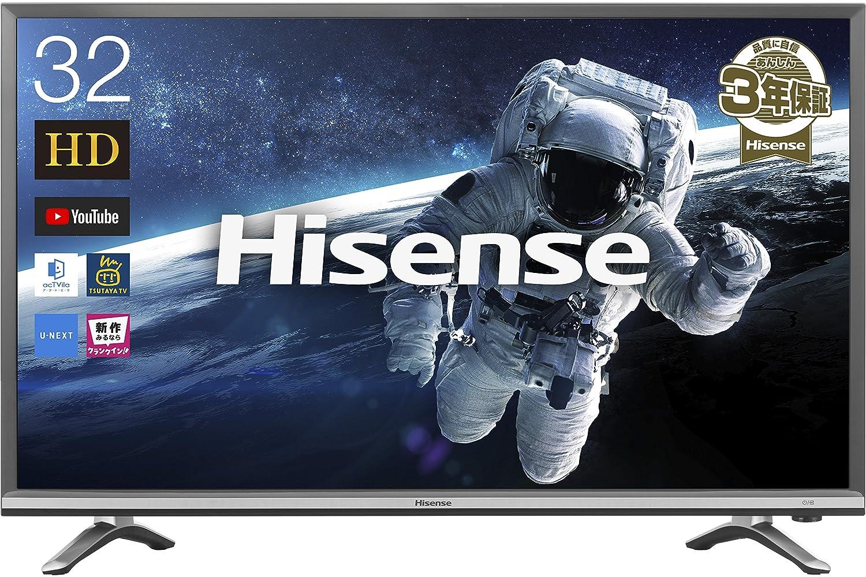 8位.Hisense 32V型ハイビジョンスマート液晶テレビ 32N20