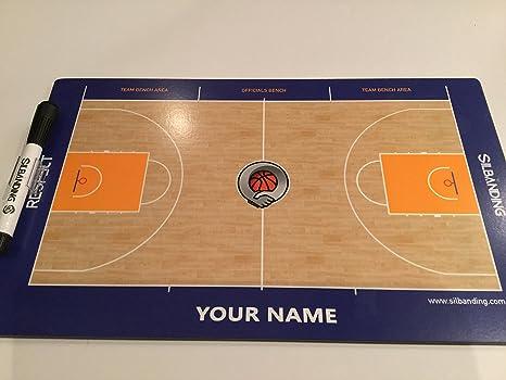 Pizarra Baloncesto PREMIUM (Personalizada con TU NOMBRE)