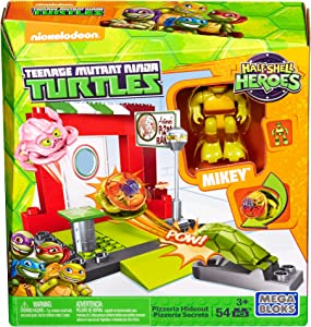 Mega Construx Teenage Mutant Ninja Turtles Half-Shell Heroes Pizzeria Hideout