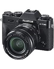 Fujifilm X-T30 schwarz mit XF18-55mmF2.8-4 R LM OIS Objektiv Kit