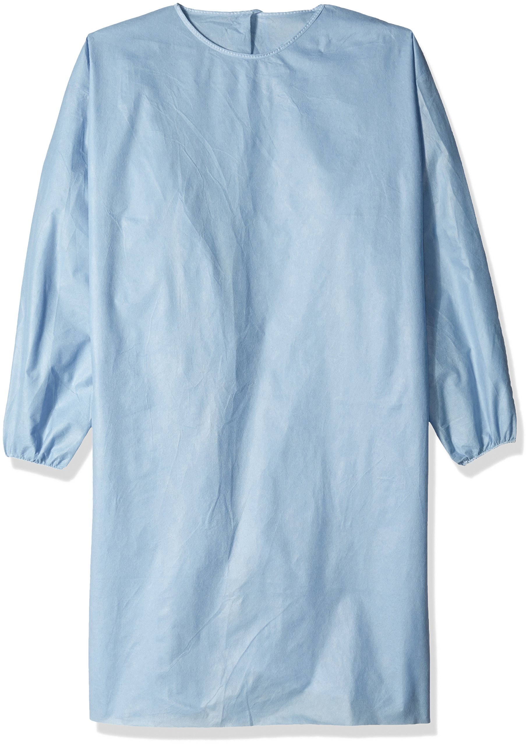 Precept 51181 Non-AAMI SMS Gowns, Full Back, Universal, LG, Blue (Pack of 100)