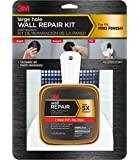 3M Large Hole Wall Repair Kit with 12 fl. oz Compound,  Self-Adhesive Back Plate, Putty Knife and Sanding Pad