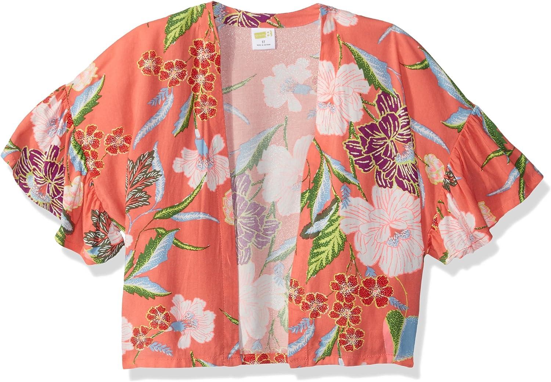 Crazy 8 Girls Open Front Kimono Cardigan