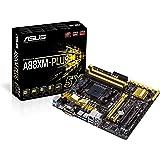 Asus A88XM-Plus: Scheda madre, mATX, AMD A88X, 8 x SATA 6.0 Gb/s, DDR3, VGA, 4 x USB 3.0, 10 x USB 2.0