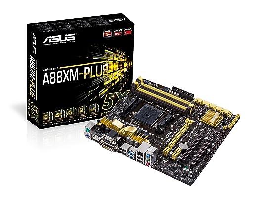 69 opinioni per Asus A88XM-Plus: Scheda madre, mATX, AMD A88X, 8 x SATA 6.0 Gb/s, DDR3, VGA, 4 x