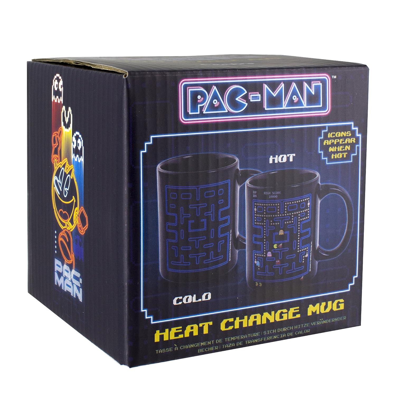 Multi-Colour Ceramica Pac-Man Tazza Termocolore Pacman 8 x 12 x 10 cm