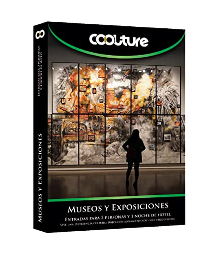 COOLTUREBOX - Caja Regalo - MUSEOS Y EXPOSICIONES - Entradas para 2 personas más 1 noche