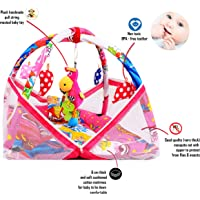 Pokemon Print Musical Baby Kick & Play Gym with Baby Bedding Set and Mosquito net (Angry Bird)
