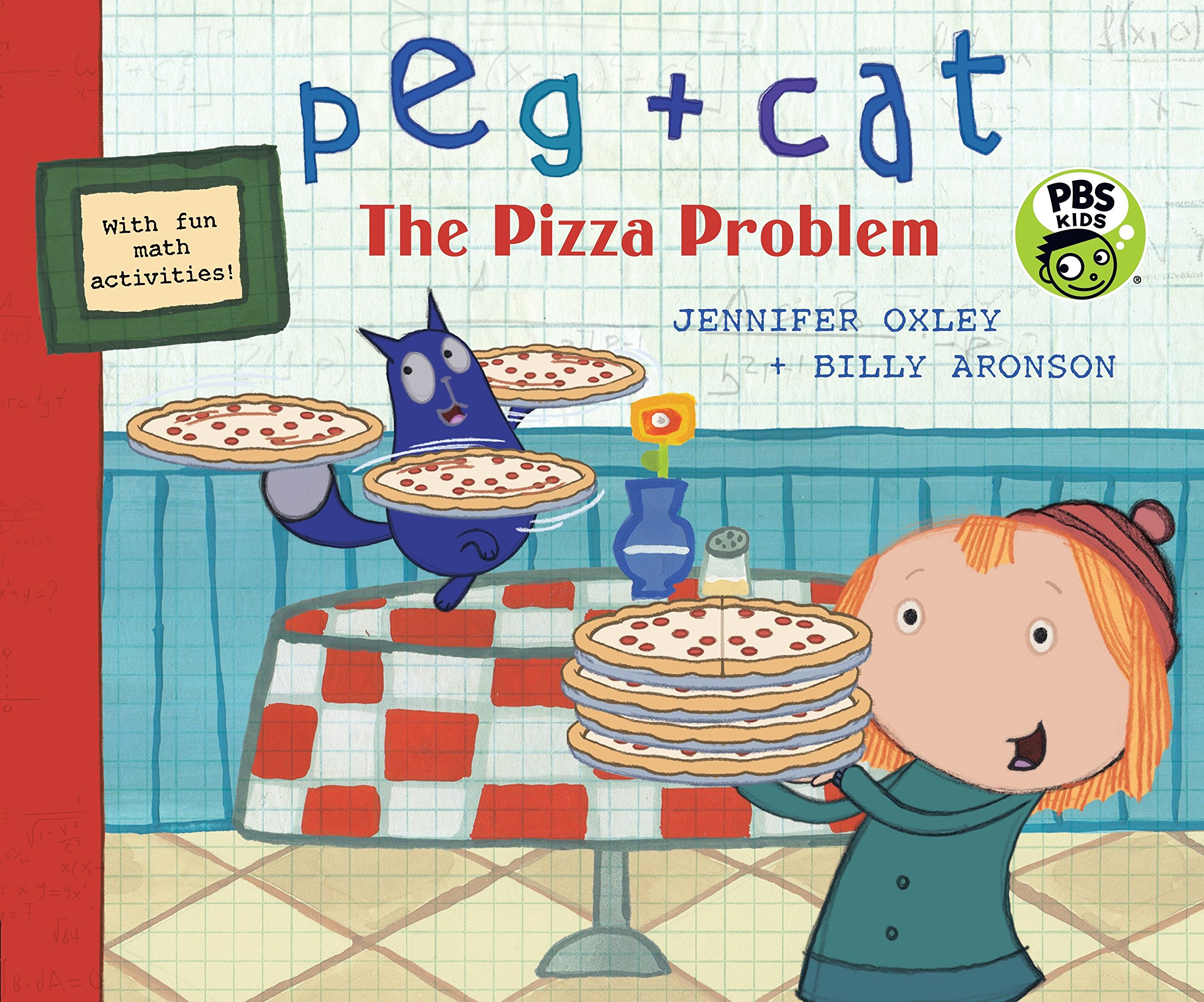 Peg + Cat: The Pizza Problem PDF