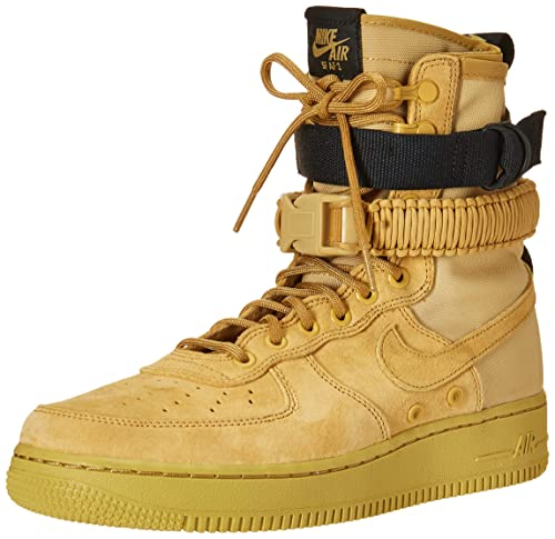 separation shoes 2e83a fc1ab Nike Men s SF Air Force 1 Shoe, Scarpe da Fitness Uomo, Multicolore Club  Gold