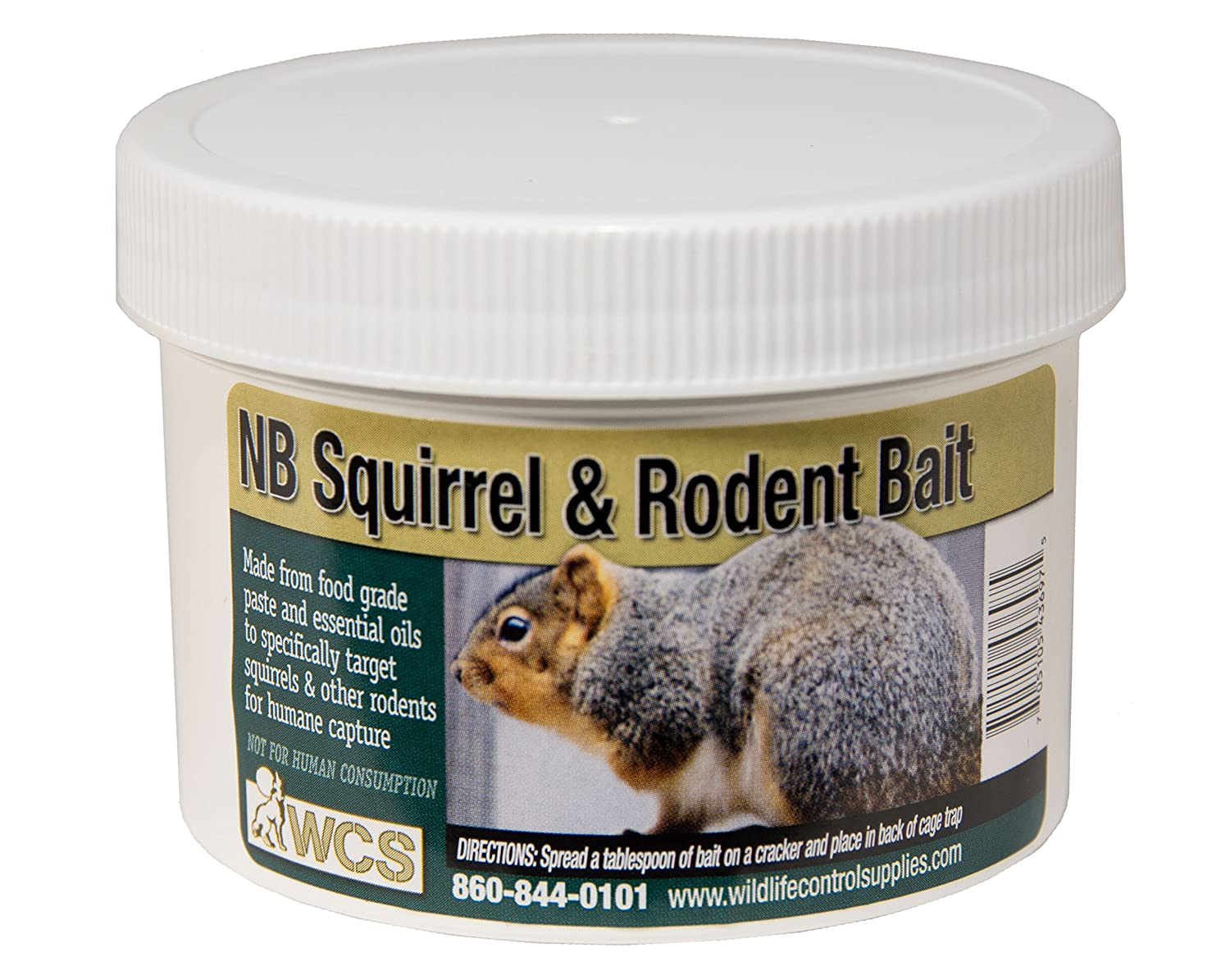 Wildlife Control Supplies WCS NB Squirrel and Rodent Pest Bait