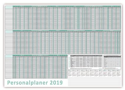 Planificador de vacaciones/Personal Agenda 2019 húmedo ...