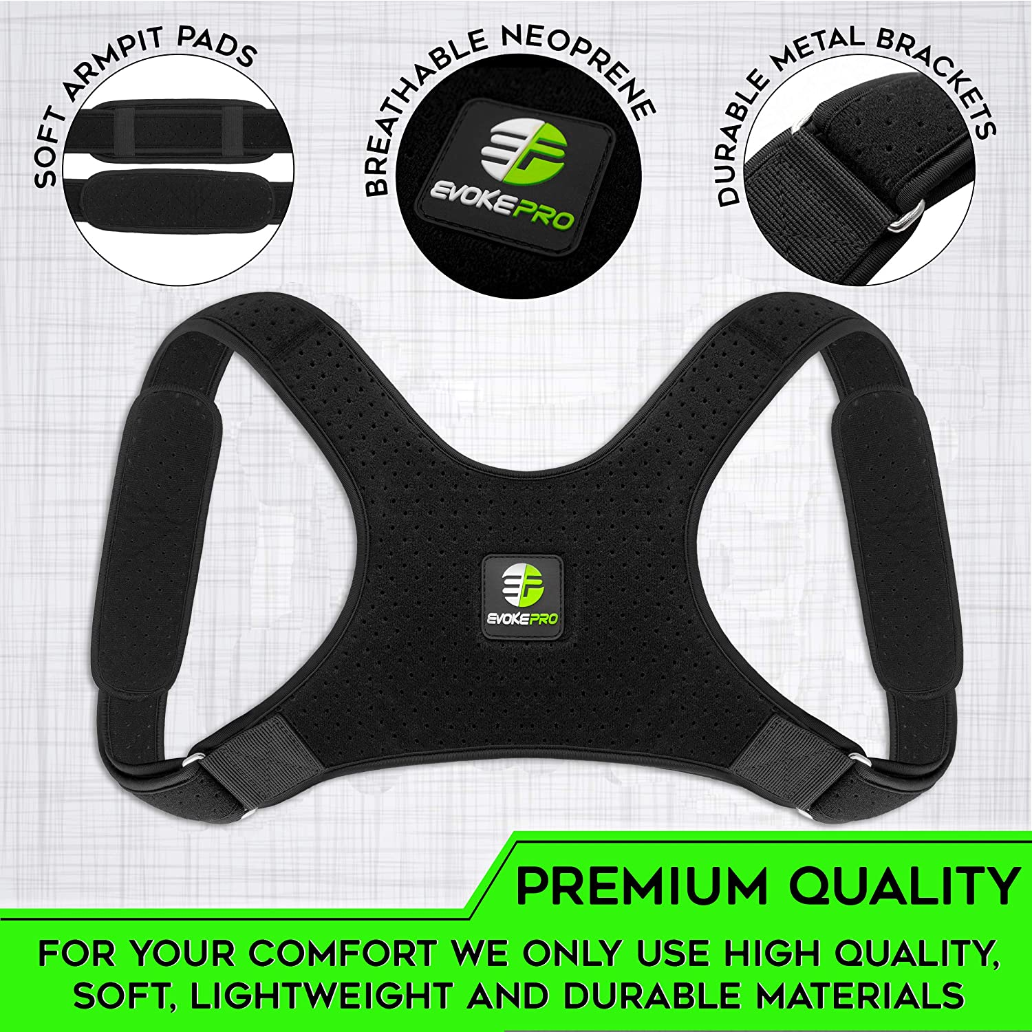 Amazon.com: Back Posture Corrector for Wo and - Upper Back ...