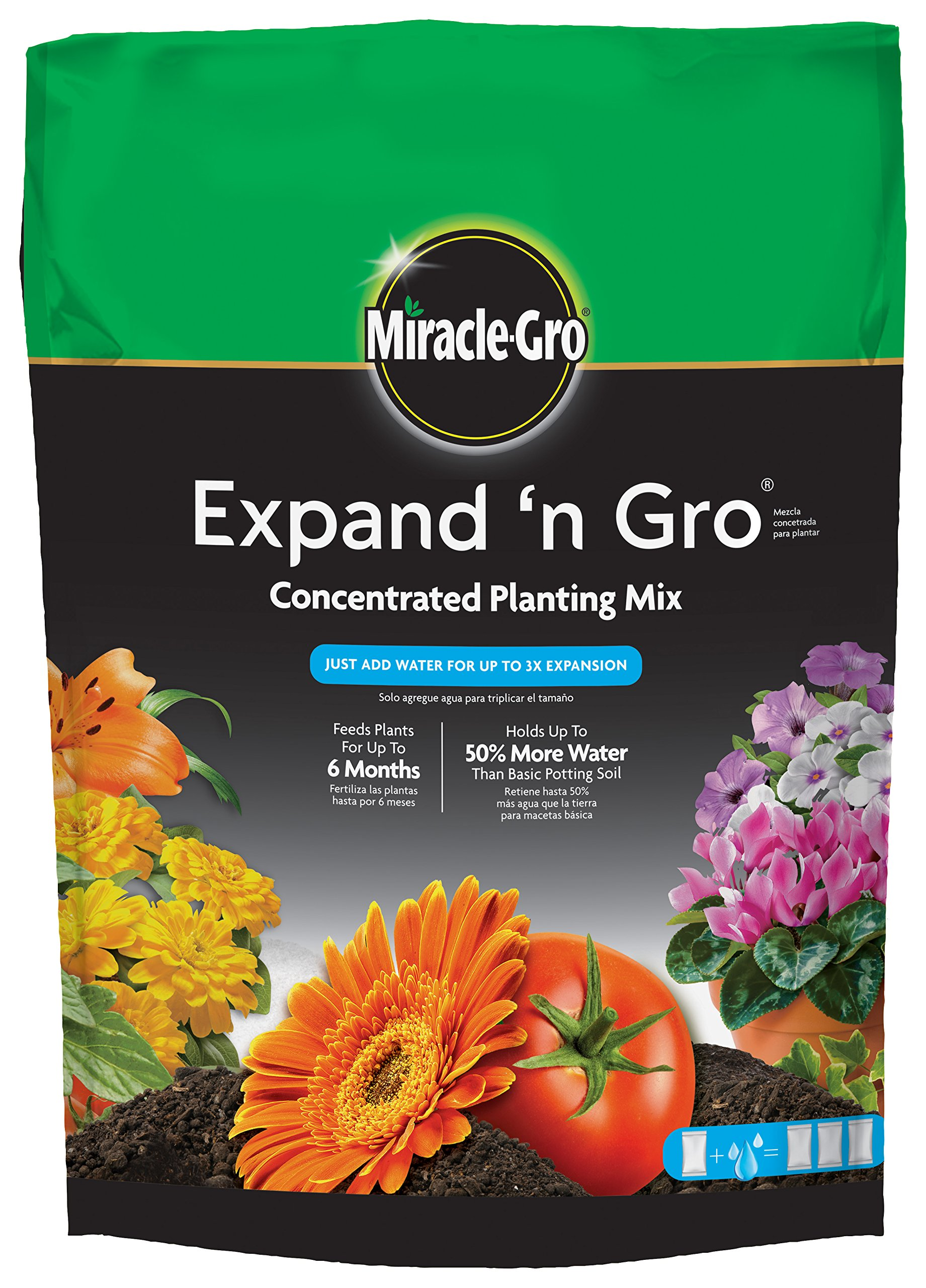 Miracle-Gro Expand 'n Gro Concentrated Planting Mix 0.33 cu ft by Miracle-Gro