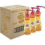 NESTLE COFFEE-MATE Coffee Creamer, Hazelnut, 21.1oz liquid pump bottle, Pack of 3