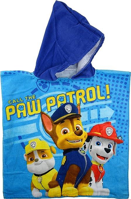 Neu mit Etikett Paw Patrol  Badeponcho Kapuzenhandtuch Badehantuch Kinder