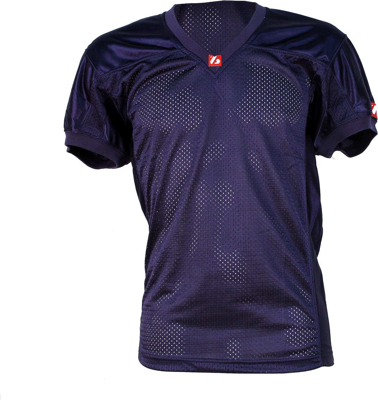 FJ de 2 American Football Camiseta, Match, Color Azul Marino: Amazon.es: Deportes y aire libre