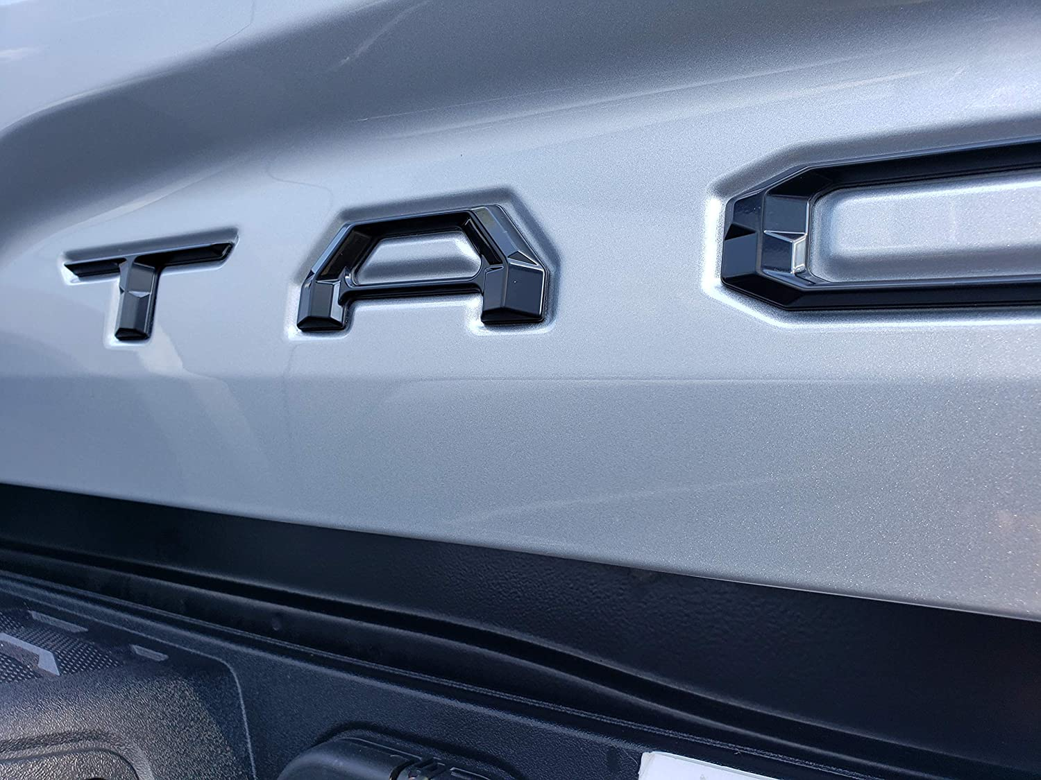 Black Flag Truckin With Tina Special Reserve Insert Letters fits 2016-2020 Toyota Tacoma