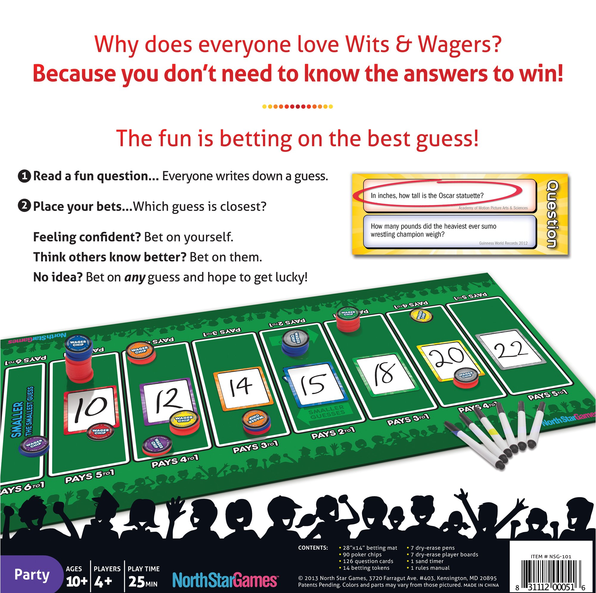 Wits & Wagers Deluxe by North Star Games (Image #2)