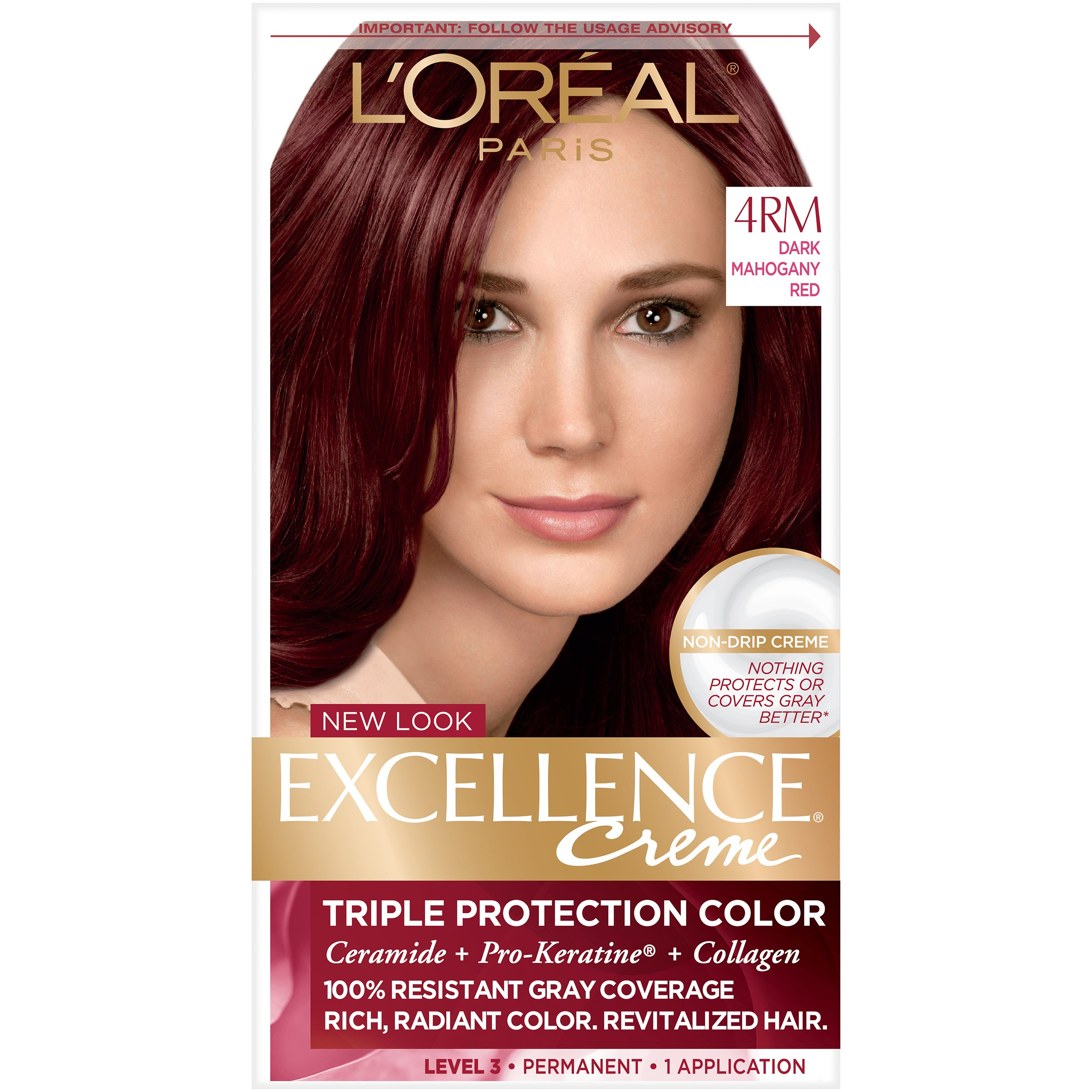 Amazon Loreal Paris Excellence Creme Hair Color 4rm Dark