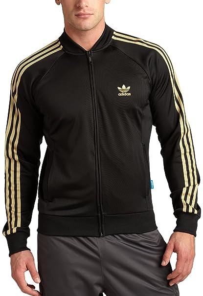 Adidas superstar jacke gold