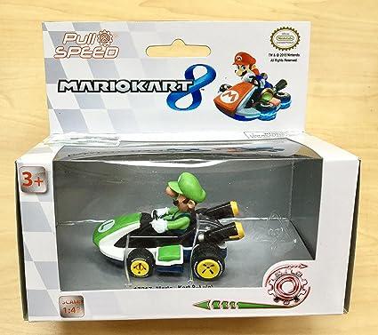 Pull And Speed Nintendo Mario Kart Wii Toy Car Luigi