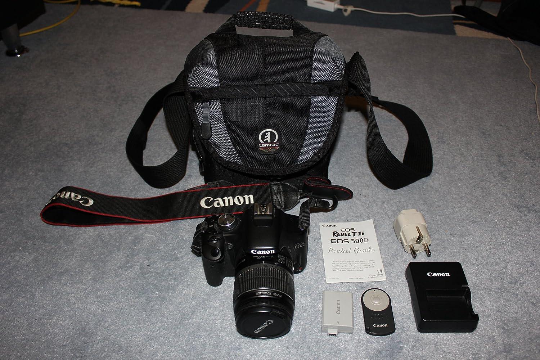Canon - Cámara de Fotos Digital Canon EOS 500D (Rebel T1l, EOS ...