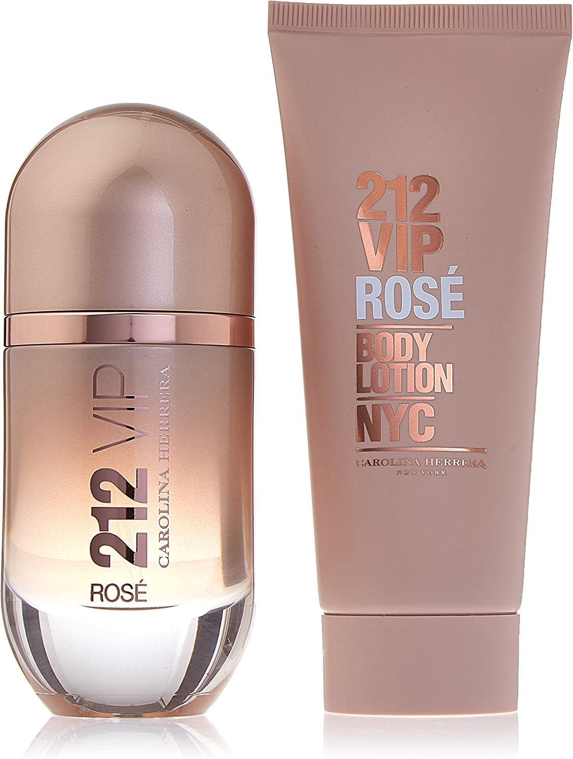 ESTUCHE Carolina Herrera 212 VIP Rose 50ml EDP: Amazon.es: Belleza