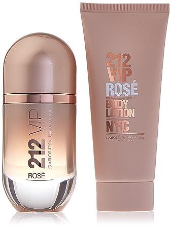 8c5bdccd34 Amazon.com : Carolina Herrera 212 VIP Rose 2 Piece Gift Set for Women :  Beauty