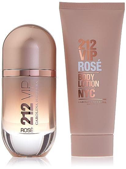 Amazon.com : Carolina Herrera 212 VIP Rose 2 Piece Gift Set ...