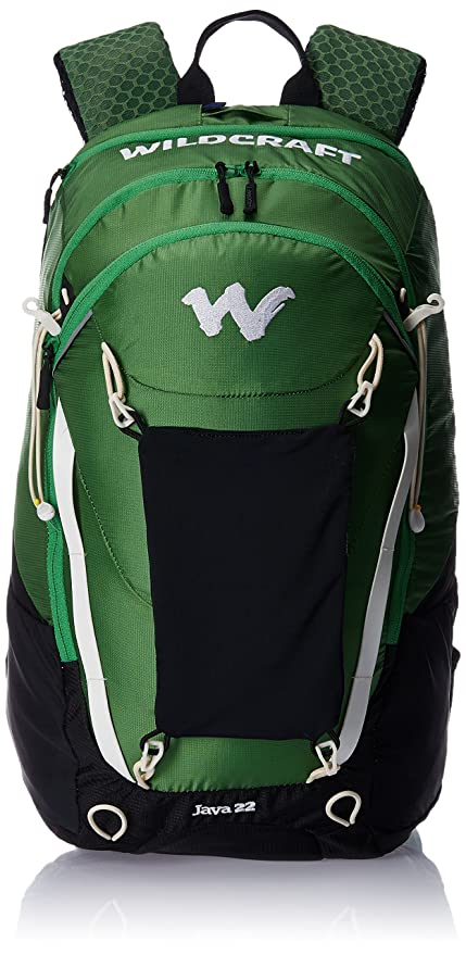 987466f182 Image Unavailable. Image not available for. Colour  Wildcraft HypaDura 22 liters  Green Kids Bag ...