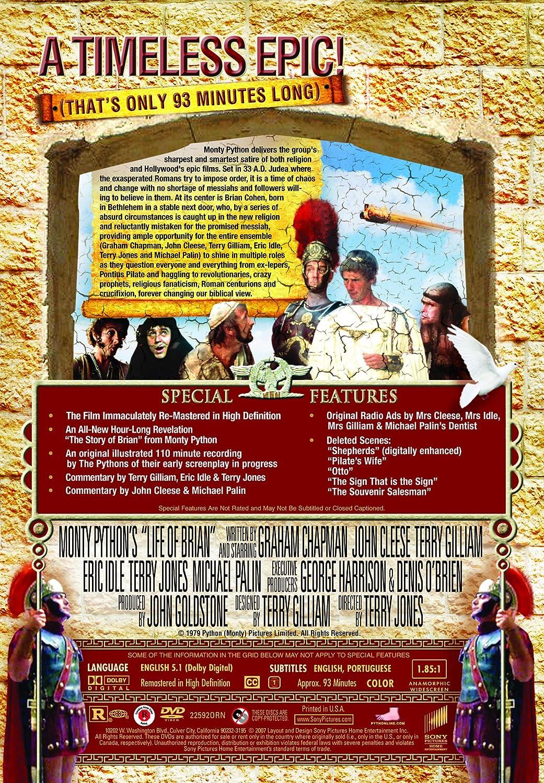 Amazon Com Monty Python S Life Of Brian The Immaculate Edition Graham Chapman John Cleese Terry Jones Movies Tv