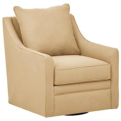 Stone U0026 Beam Larkin Swivel Chair, ...