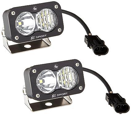 Baja Designs 48-7803 S2 Pro Driving//Combo LED Light Bar Pair 487803