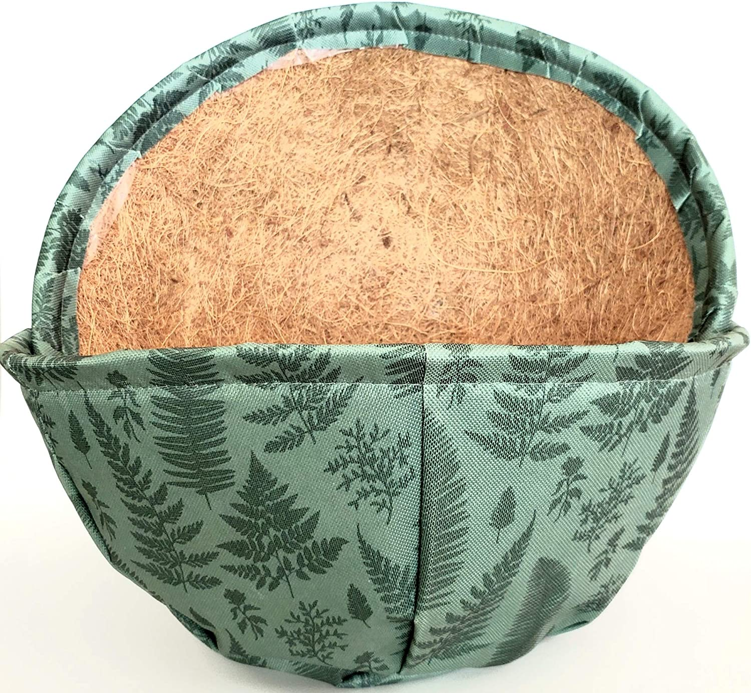 Fabric Covered Coconut Liner 14 Inch 2 Pack