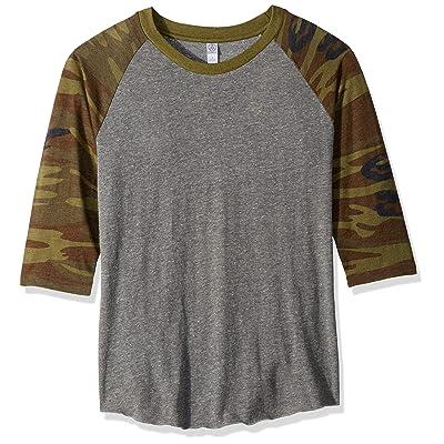 Alternative Men's Printed Sleeve Baseball Tee | Amazon.com