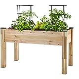 """CedarCraft Elevated Garden Planter (23"""" X 49"""" X 30"""")"""