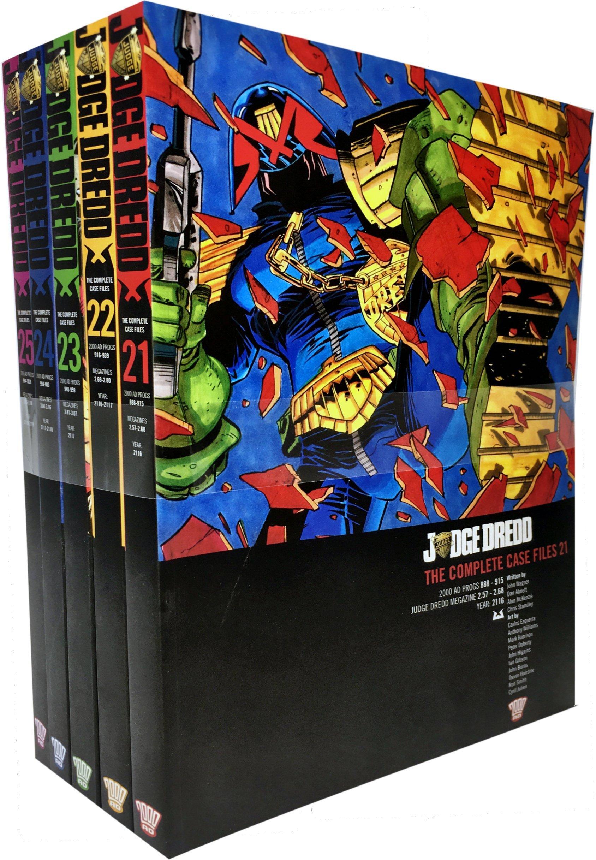 Download Judge Dredd: Complete Case Files Volume 21-25 Collection 5 Books Set (Series 5) By John Wagner pdf epub